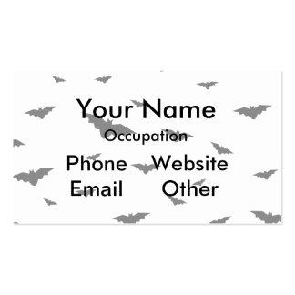 Flying Bats - Halloween Business Card