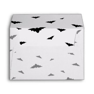 Flying Bats - Halloween Envelope