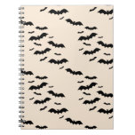 Flying Bats Spiral Note Book