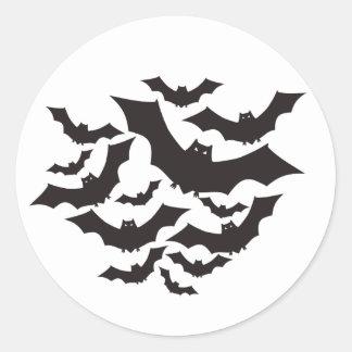Flying bats sticker