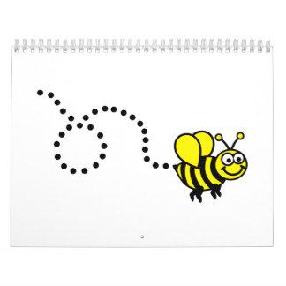 Flying bee calendar