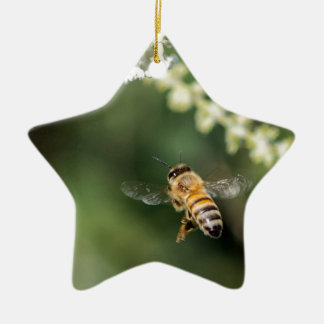 FLying Bee Ceramic Ornament
