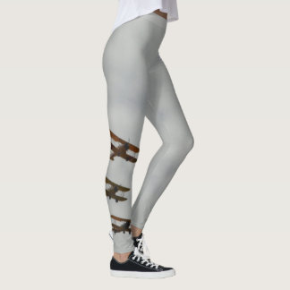 Flying Biplanes photo leggings