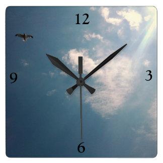 FLYING BIRD clock