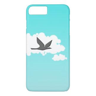 Flying Bird Silhouette iPhone 7 Plus Case