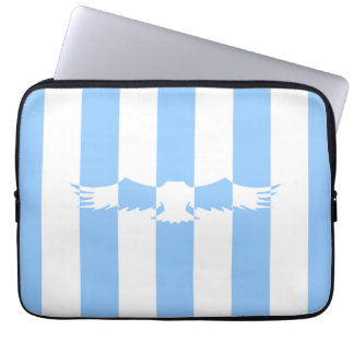 Flying Bird with Lines Laptop Sleeve