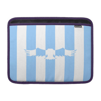 Flying Bird with Lines MacBook Sleeve