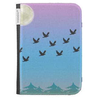 Flying Birds Caseable Case Kindle Keyboard Cases
