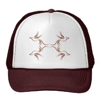 FLYING BIRDS - cute line art graphics Trucker Hat