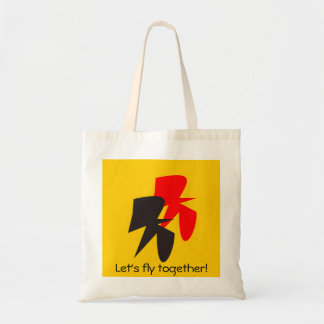 Flying Birds in German colours Tote Bag