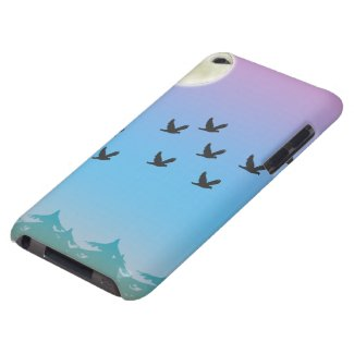 Flying Birds iPod Touch Case Mate Case