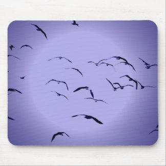 Flying birds mousepad