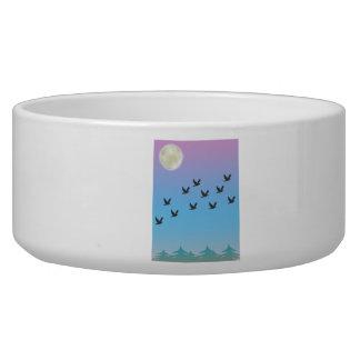 Flying Birds Pet Bowl