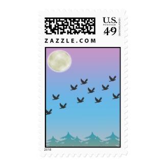 Flying Birds Postage