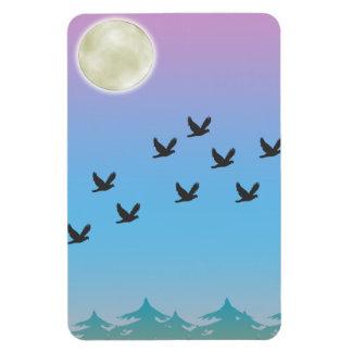 Flying Birds Premium Flexi Magnet
