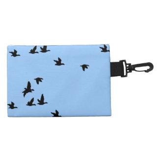 Flying Birds Wildlife Clip-on Accessory Bag