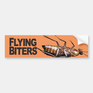 Flying Biters - Bumper Sticker