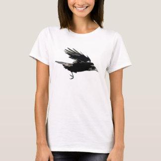 Flying Black CROW Art Fashion Shirt