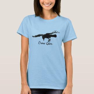 Flying Black Crow Gear Wildlife Artwork Shirt