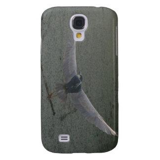Flying Black-Crowned Night-Heron Samsung Galaxy S4 Covers