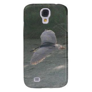 Flying Black-Crowned Night-Heron Samsung S4 Case