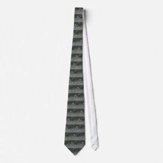Flying Black-Crowned Night-Heron Tie