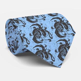 Flying Black Dragons Tie