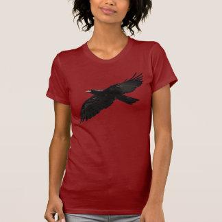 Flying Black RAVEN Art Fashion Shirt