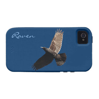 Flying Black Raven Crow-lover's Phone Case Case-Mate iPhone 4 Cases