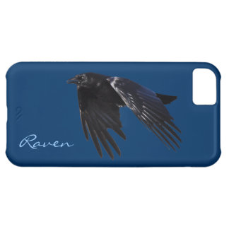 Flying Black Raven Crow-lover's Phone Case