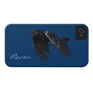 Flying Black Raven Crow-lover's Phone Case Case-Mate iPhone 4 Case
