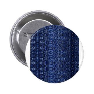 Flying Blue Carpet Fantasy Pattern Pins