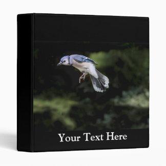 Flying Blue Jay Binder