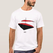 Flying boat abstract art T-Shirt