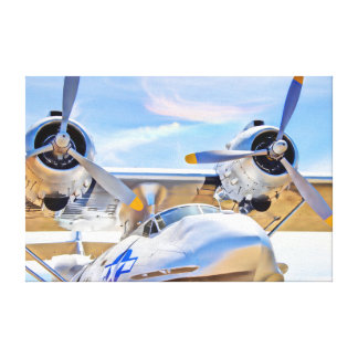 Flying Boat Canvas Print