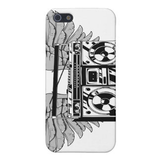 Flying boombox  cover for iPhone SE/5/5s