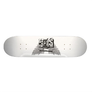 Flying Boombox Skateboard