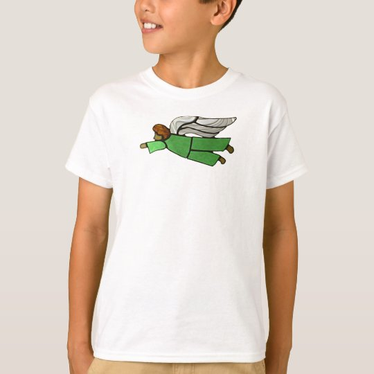 Flying Boy Angel T shirt