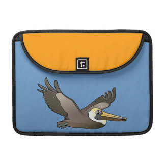 Flying Brown Pelican MacBook Pro Sleeve