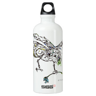 Flying bug water bottle