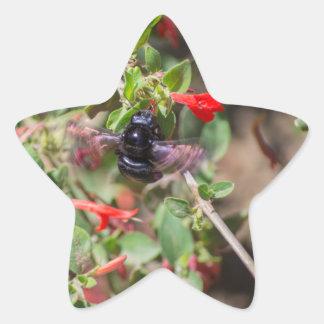 Flying Bumblebee Sticker