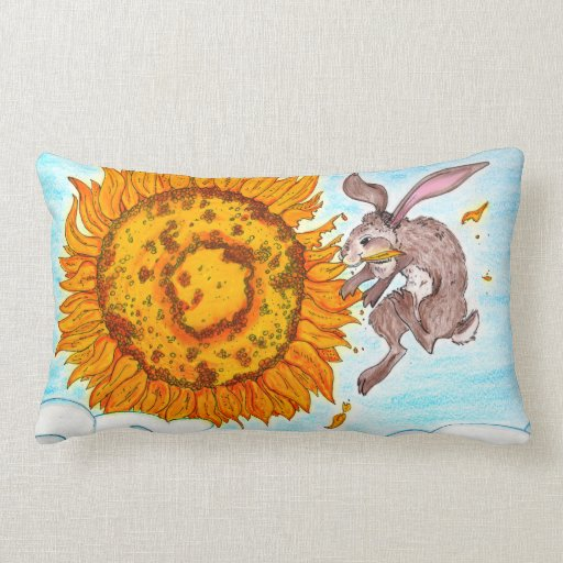 Flying Bunny Pillow!