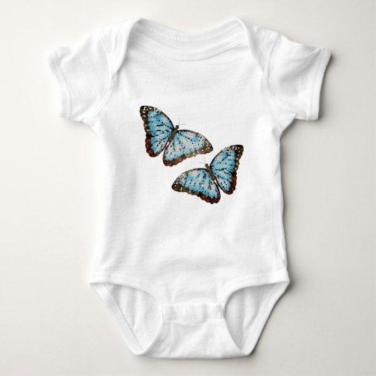 Flying Butterflies Baby Bodysuit