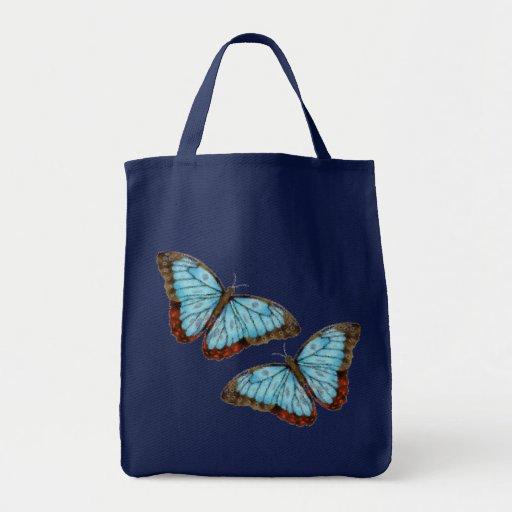 Flying Butterflies Canvas Bag
