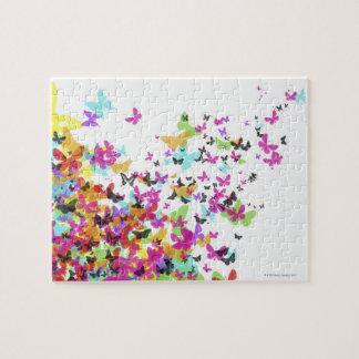 Flying Butterflies Jigsaw Puzzle