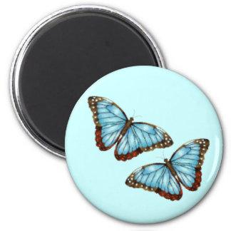 Flying Butterflies Refrigerator Magnets