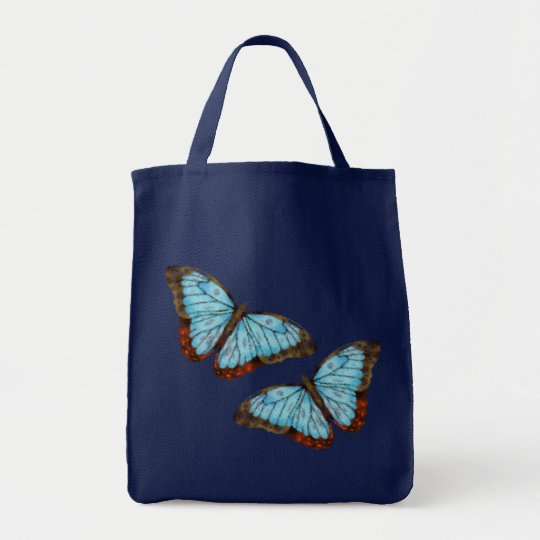 Flying Butterflies Tote Bag