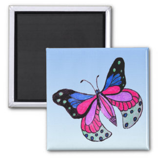 Flying Butterfly Magnet