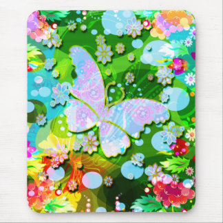 Flying Butterfly Mouse Pad