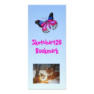 Flying Butterfly Rack Card